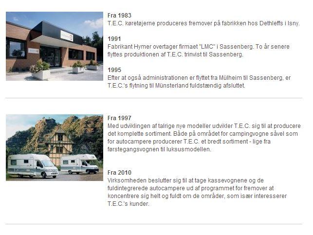 TEC-historie
